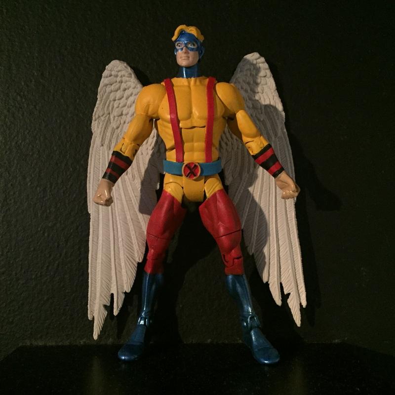 MARVEL LEGENDS CUSTOM ANGEL X-MENyou can choose the wings